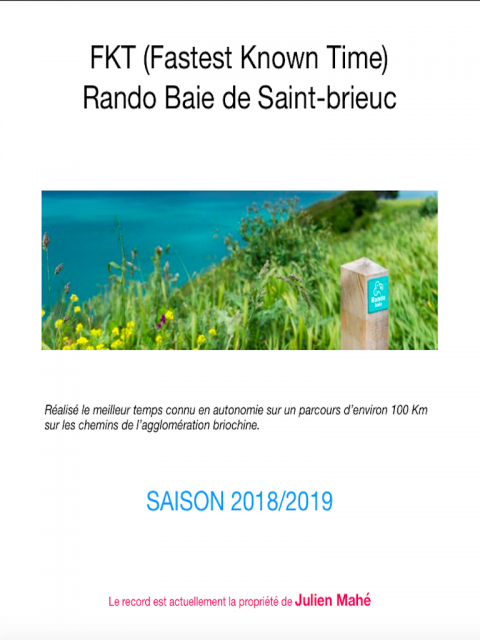 FKT RANDO'BAIE ST BRIEUC