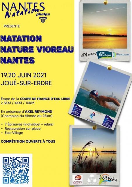 Natation eau libre Vioreau 10 km du dimanche 20 Juin